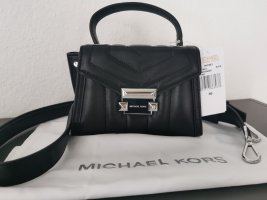 Neue exclusive MICHAEL Michael Kors Leder Tasche Whitney Mini Messenger NP 275 €