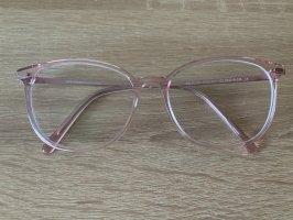 Neue eyes + more Brille rosa Transparent
