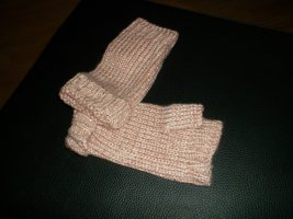 Fingerless Gloves beige-nude