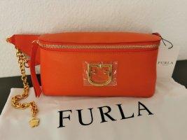 Neue Furla Bauchtasche orange mit Etikett NP 280€