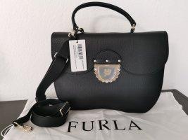 Neue große Furla Leder Tasche Ducale M NP 450€