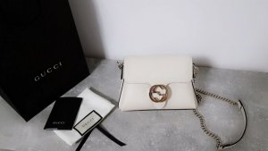 Gucci Clutch white leather