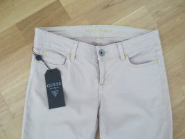 Guess Jeans a sigaretta bianco sporco