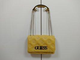 Neue Guess Tasche Bag Handtasche Crossbody Chic gelb