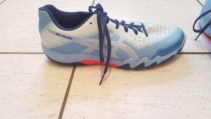 Asics Basket à lacet bleu azur