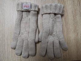 Sir Oliver Fleece handschoenen licht beige