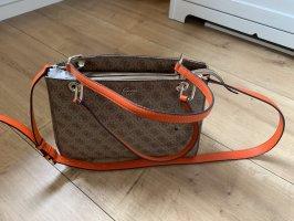 Neue Handtasche von Guess beige/rot