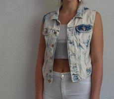 H&M Gilet en jean multicolore
