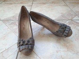 Neue High Heels mit Plateau von Unisa, taupe, 38