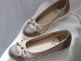 Slingback Ballerinas grey brown