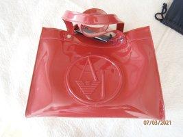 Armani Jeans Handbag neon red
