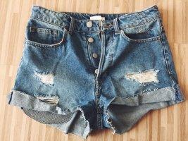 neue Jeansshorts high waist