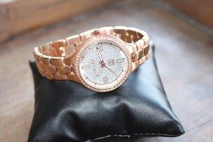 Jette Joop Horloge met metalen riempje veelkleurig Metaal