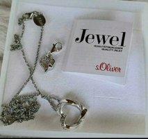 s.Oliver Silver Chain silver-colored