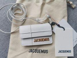 Jacquemus Minitasje wit Leer