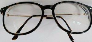 KRASS Glasses dark brown-cognac-coloured
