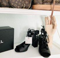 5th Avenue Lace-up Pumps black leather