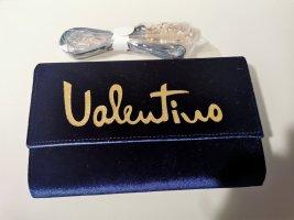 Neue Mario Valentino Tasche samt dunkelblau mit Etikett