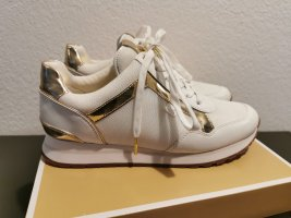 Neue Michael Kors Sneaker weiß gold Gr. 39