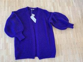 Neue mit Etikett-Strickjacke in violett