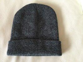 Knitted Hat grey-dark grey