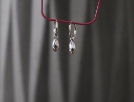 Neue Ohrringe Creolen von Asos 925er Silber