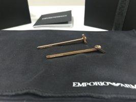 Neue originale Armani Ohrringe im minimalistischen Stil