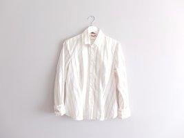 Otto Kern Camicetta a blusa bianco-beige Cotone