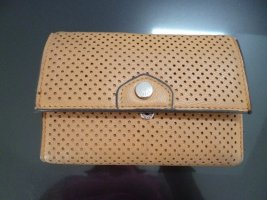 NEUE -PARFOIS- Geldtasche ACCESSOIRES: trendige Geldbörse, cognac-beige, viele Innenfächer lt. Fotos