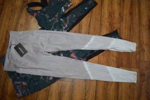 PrettyLittleThing Pantalone da ginnastica grigio chiaro-grigio