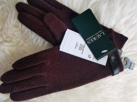 Neue Ralph Lauren Handschuhe bordeaux rot