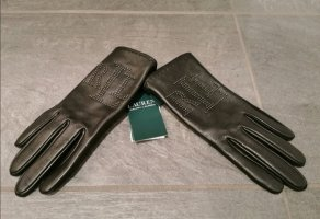 Neue Ralph Lauren Lederhandschuhe mit Etikett NP 119€