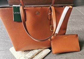 Ralph Lauren Borsa shopper cognac