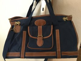 Travel Bag bronze-colored-dark blue