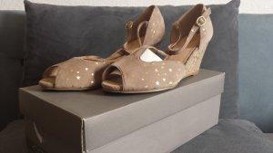 Neue Riemchen Peep Toe Sandalen  Unpaar