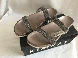 Kim Kay London Comfortabele sandalen grijs