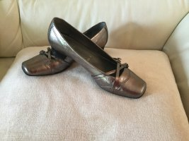 ara Slip-on Shoes silver-colored