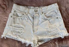 Mango Hot Pants white-natural white
