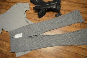 Nakd Pantalón de cintura alta gris claro-gris