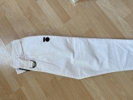10 Days Baggy Pants white-black cotton