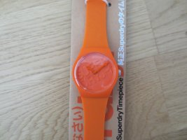 Superdry Montre analogue orange