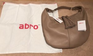 abro Hobos beige-camel leather