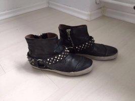 Crime Booties anthracite-dark grey