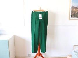 Neue Zara Hose Gr. M 38 grün Stoffhose