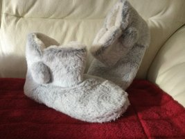 House Boots light grey-white mixture fibre