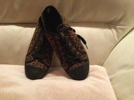 active Sneakers met veters zwart-bruin
