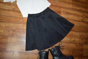 Amisu Flared Skirt black