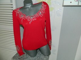 Imagini Fine Knit Jumper red viscose