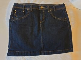 Yessica Gonna di jeans blu scuro