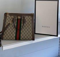 Gucci Sac à main gris brun